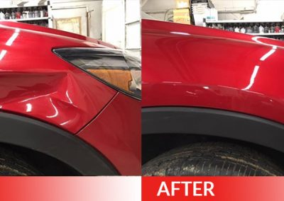 paintless front end dent repair Dent Magic USA - Columbus Ohio - Dublin Ohio