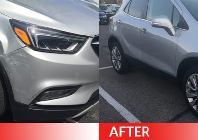 body bumper repair Dent Magic USA - Columbus Ohio - Dublin Ohio